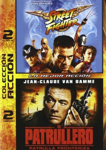 Pack Street Fighter (La Ultima Batalla) + El Patrullero: Patrul [DVD]