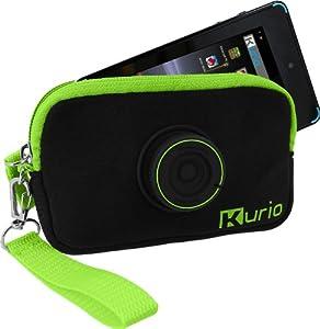 """Kurio C13750 Funda para Tablet 10,2 cm (4"""") Funda de protección Negro, Verde - Fundas para Tablets (Funda de protección, 4S Touch, 10,2 cm (4""""), Negro, Verde)"""