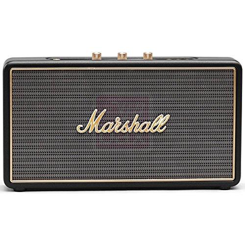 Marshall Stockwell 27W Rectángulo - Altavoces portátiles (Inalámbrico y alámbrico, Batería, 50...