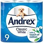 Andrex Classic White Toilet Roll Tiss...