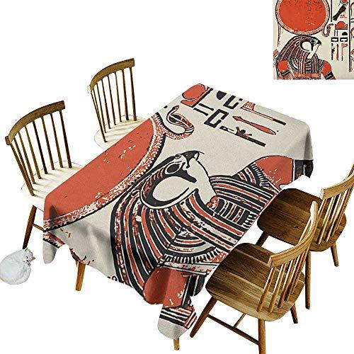 ¿Por qué elegir el mantel Cranekey?    Elegante y elegante hogar con una variedad de hermosas cocinas y manteles.    Mantel redondo de poliéster de alta calidad de 50 x 80 pulgadas, ancho 132 x largo 178 cm, ancho 137 x largo 72 pulgadas, ancho 13...