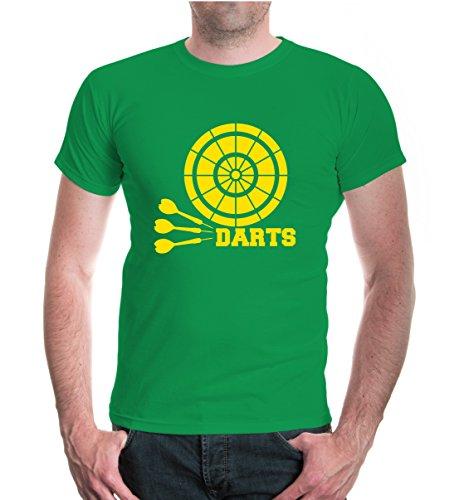 buXsbaum® T-Shirt Darts V2 kellygreen