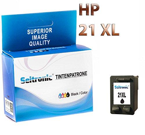 Preisvergleich Produktbild 1x Drucker Patrone für HP 21XL SCHWARZ OFFICEJET 4311 4312 4314 4315 4315V