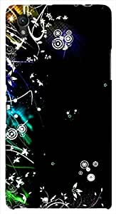 Significant multicolor printed protective REBEL mobile back cover for Sony Xperia Z1 C6902/L39h D.No.N-L-17051-S39