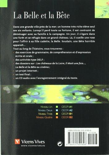 La Belle Et La Bete+cd (Chat Noir. Lire Et S'entrainer)