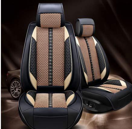 WANGLEISCC Coprisedili per auto, per peugeot 206 407 508 308 301 3008 2017 205 106 307 207 copri sedili per accessori auto