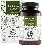 NATURE LOVE Probiona Kulturen Komplex - 18 Bakterienstämme + Bio Inulin. 180 magensaftresistente...