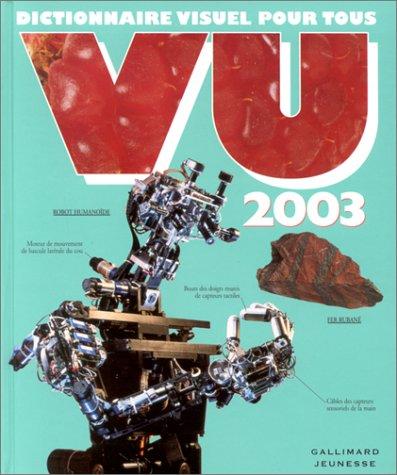 Vu 2003 : Dictionnaire visuel pour tous