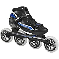 Powerslide Speed Skates R2 - Patines en línea, color negro, talla 43