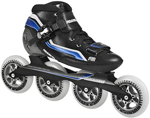Powerslide Speed Skates R2 - Patines en línea, color negro, talla 44