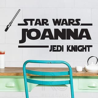 Personalized Star Wars Jedi Knight Personalized Wall Quotes Name Stickers Wall Decals by amazing sticker