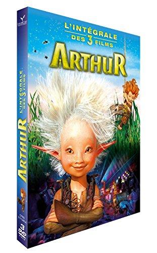 Coffret arthur 3 films : arthur et les minimoys ; la vengeance de maltazard ; la guerre des deux mondes