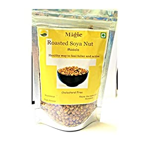 Magic Roasted SOYA Bean Masala Nuts/Diet Snack Food/Roasted SOYA namkeen/No Preservative/Gluten Free /High Protein/Lactose Free/Non GMO Soyabean 200 g