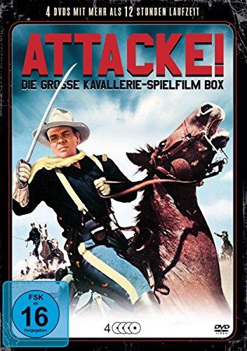 Attacke! - Die grosse Kavallerie-Spielfilm Box [4 DVDs] Preisvergleich