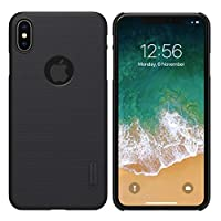 Apple iPhone XS Max (6.5) NILLKIN Matte Hard Frosted Shield Case for iPhone XS Max 6.5 Inch Protective Back Cover - Black By Muzz
