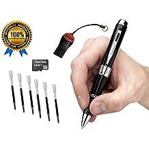 Gadgets espía Cámara Espía Boli Serie 2 HD 1080p Oculto Video mejor cámara Premium Digital & Audio con el verdadero libre de la EH 8GB Tarjeta SD Real ...