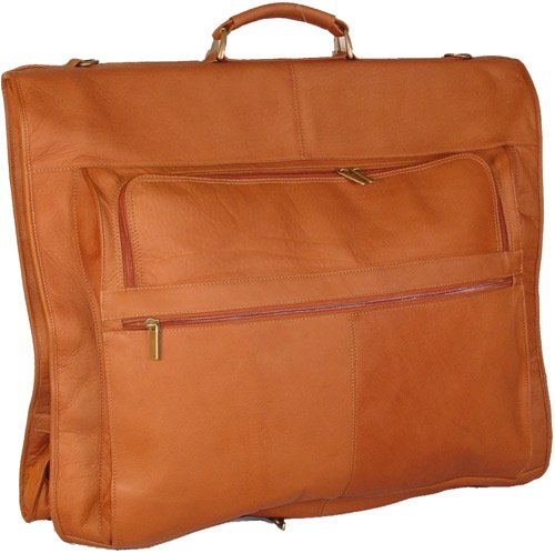 david-king-co-42-inch-garment-bag-deluxe-tan-one-size