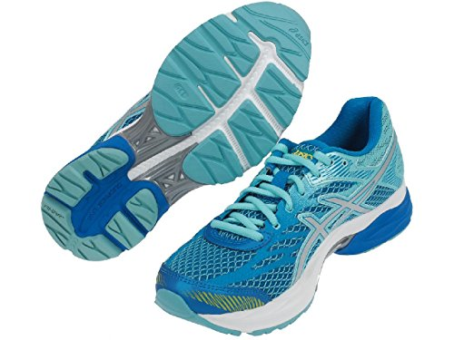 Asics - Flux 4 gel trq run l - Chaussures running Turquoise