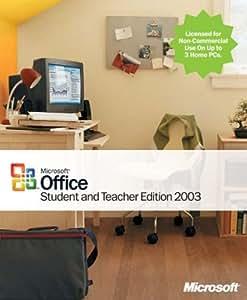 Microsoft Office Student & Teacher Edition 2003