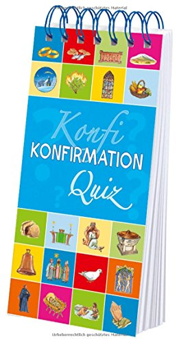 Konfirmation-Quiz (Kinder-Quiz: Religion)