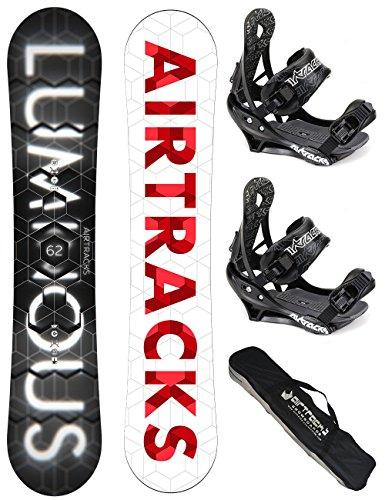 airtracks-snowboard-set-board-luminous-wide-159-softbindung-savage-l-sb-bag
