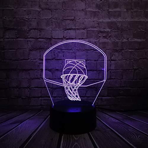 WangZJ Led Nachtlicht/Baby Raumdekoration/Usb Licht Schlaf Licht / 7 Farbe/Weihnachtsgeschenk Spielzeug/Halloween Geschenke/Basketballkorb