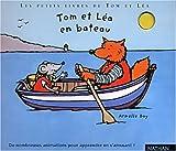 Tom et Léa en bateau