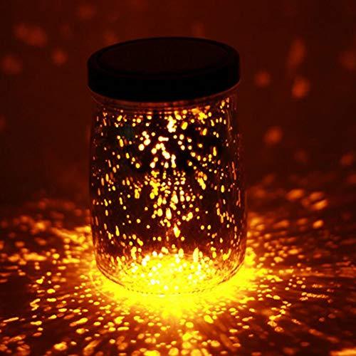 YaXuan 1Pcs Solar Creative Night Light, Glow In The Dark Light Party DIY Bright Wishing Bottle Decorative Lampen,2 (Motion-lampe Creative)