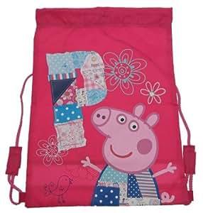 Peppa Pig - NEW DESIGN!! P for Peppa Pig Patchwork Design Trainer Bag