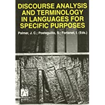 Discourse Analyisis and Terminology  in Languages for Specific Purposes (Estudis Filològics)