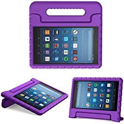 "Funda de goma EVA para tablet FIRE HD 8"" (modelo 2017 y 2018) - Varios colores"