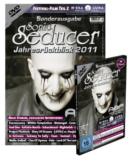 Sonic Seducer Jahresrückblick 2011 + DVD: M'Era Luna 2011, Teil 2, Bands: ASP, Nightwish, Saltatio Mortis, Blutengel uvm.