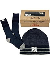 Mens Tokyo Laundry Beanie Hat And Ankle Socks 2 Piece Gift Set