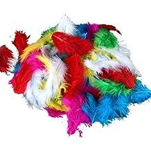 Bolsa de Plumas Feather Marabu Colores Variados para Manualidades 120 PC