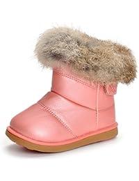 Matt Keely Bebé Botas de nieve Niños Niña Invierno Zapatos Niñito Botines de felpa