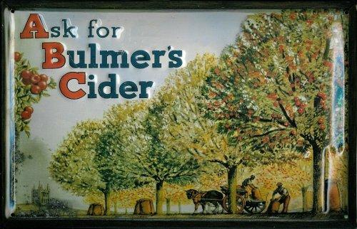 blechschild-nostalgieschild-bulmers-cider-pferdekarre-pferd