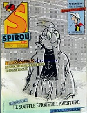 SPIROU [No 2429] du 01/11/1984 - FRANCK LE GALL.