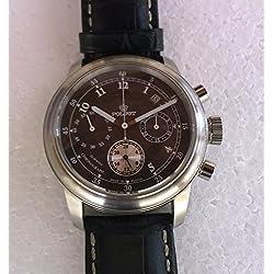 Poljot 31681-2721357 - Reloj , correa de cuero color negro