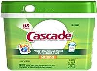 Cascade ActionPacs Dishwasher Dish Detergent, Citrus, 38.1 oz