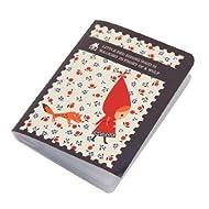 Shinzi Katoh carte de visite / Voyage / Appel Holder Cartes - Rouge hotte design