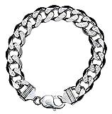 KnBoB Herren Armband Silber 925 Drachen Design groß 21cm Armbänder Herren Silber Herren Armband 925 Silber