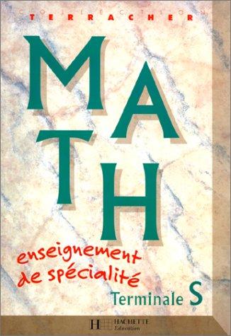 MATH TERMINALE S. Enseignement de spécialité