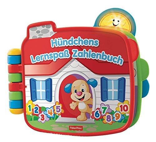 Preisvergleich Produktbild Mattel Fisher-Price CDK26 - Lernspaß Hündchens Zahlenbuch