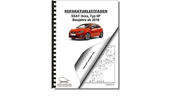 SEAT Ibiza Typ 6P Reparaturanleitung 16/> 4-Zyl 1,2l Benzinmotor 90//110 PS