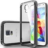 Etui Housse Gel Noir et transparent Samsung Galaxy S5 Mini + STYLET et 3 FILMS OFFERTS
