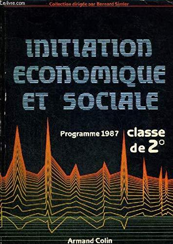 Initiation économique et sociale