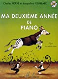 Partition : Ma Deuxième Année de Piano - Piano - Texte Français
