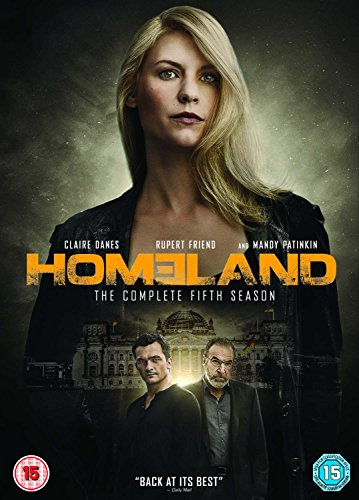 Homeland - Season 5 [DVD] [2015] UK-Import (Region 2), Sprache-Englisch.