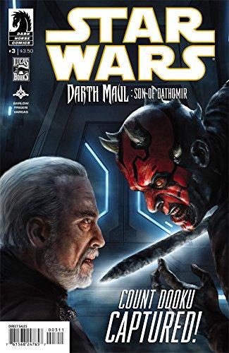 Star Wars Darth Maul Son of Dathomir #3