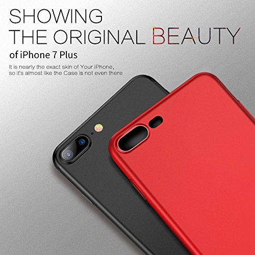 custodia iphone 7 plus red